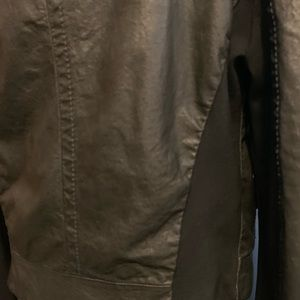 Jackets & Coats - Italian Leather Moto Jacket